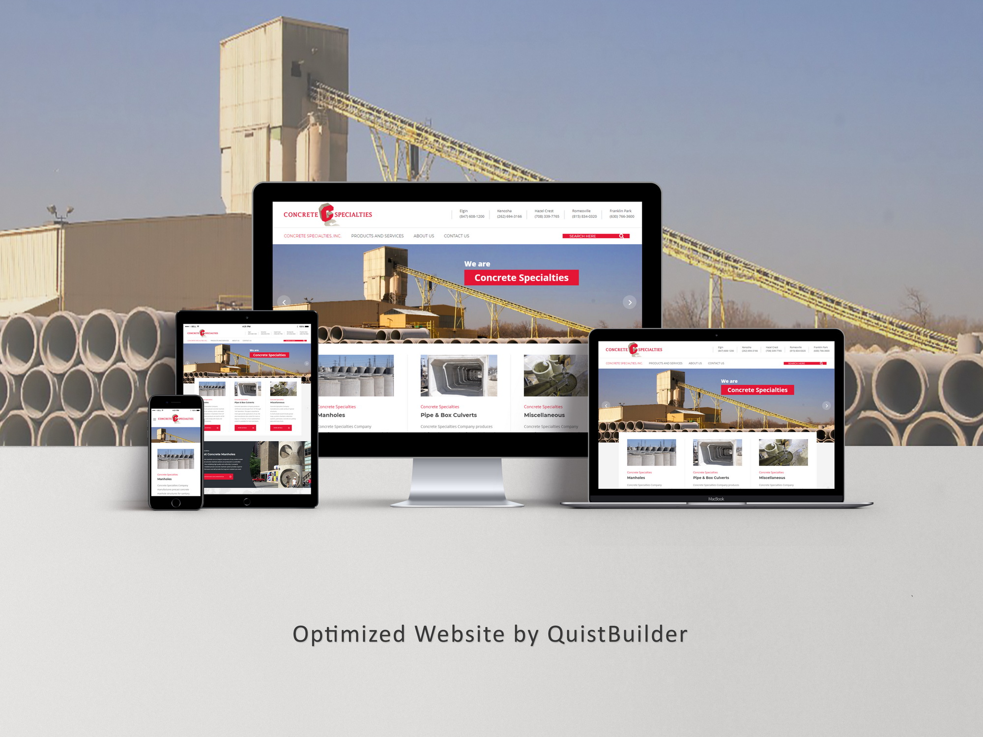 Optimized Website Developers 20