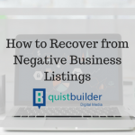 How to Recover from Negative Business Listings