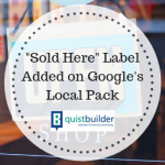 """Sold Here"" Label Added on Google's Local Pack"